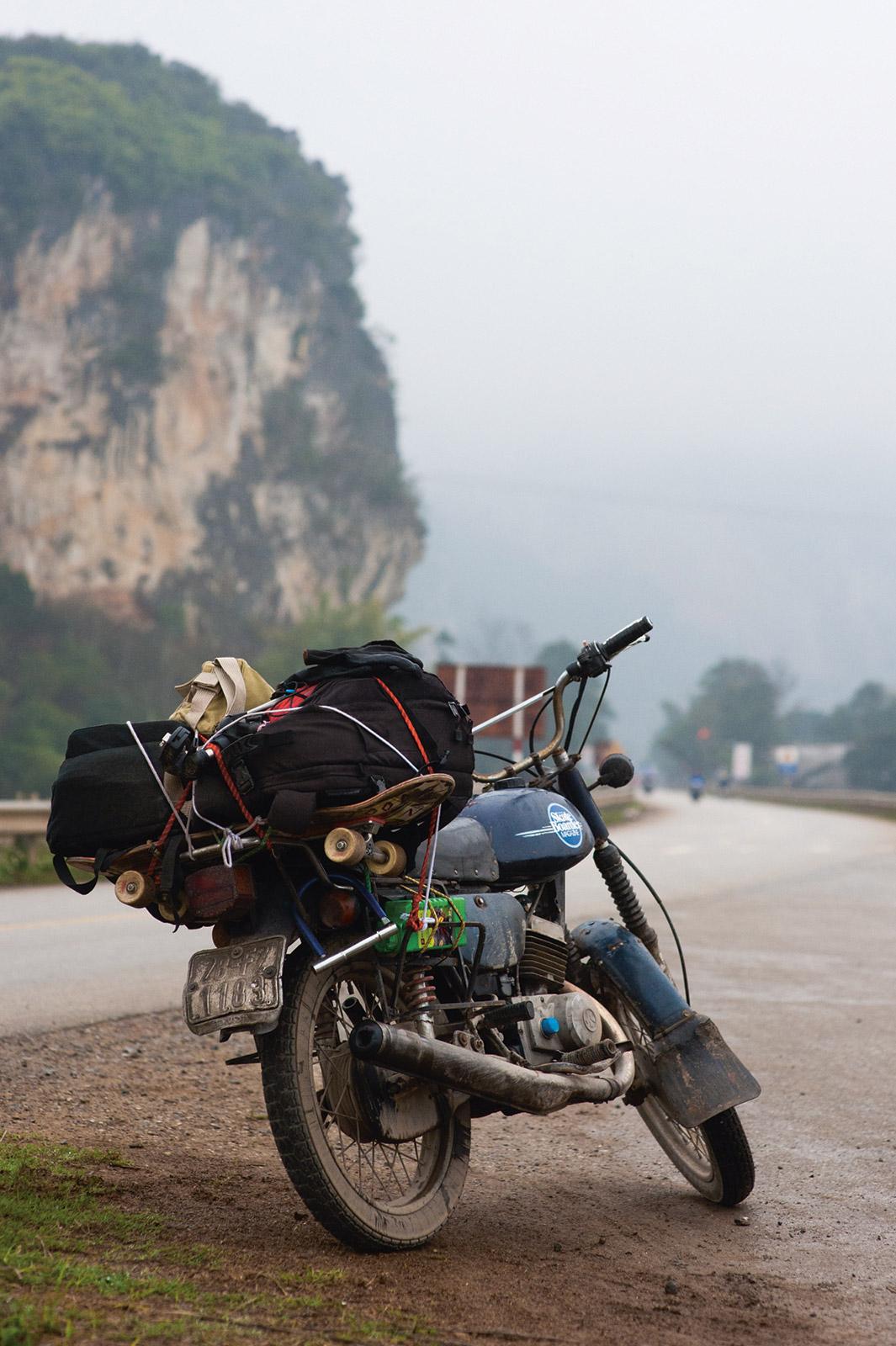 Bike And Board Rural Vietnam