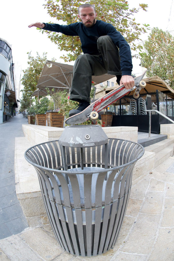 Solo Mickael Germond Early Grab Tailbonk Jerusalem