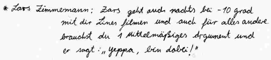 Lars Zimmermann Text